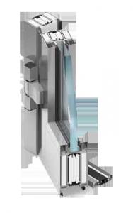 plastové dveře Protipožární systém  MB-78EI
