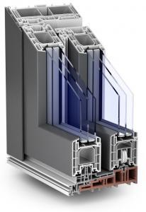 plastové dveře Premidoor HS Portal AluClip
